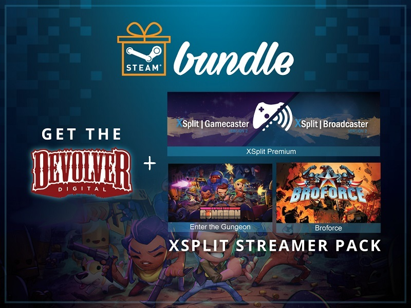 Devolver and XSplit Streamer Pack Steam Bundle