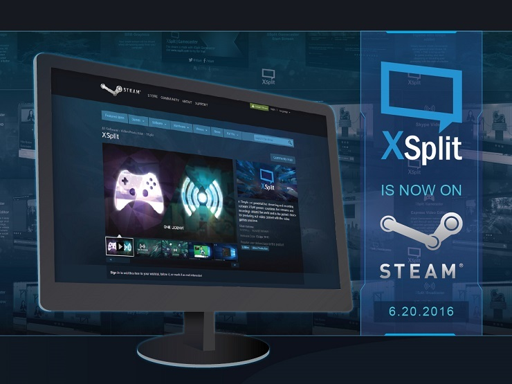 XSplit is Now on Steam