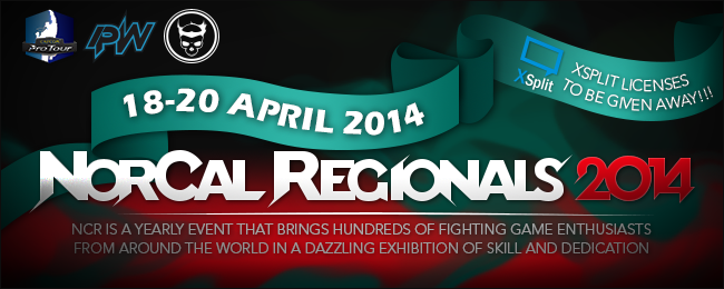 XSplit supports NorCal Regionals 2014